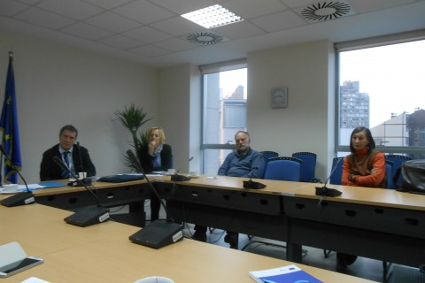 Meeting  FPA project grantees with DG Enlargement representative