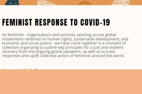 Feminist response to Covid19