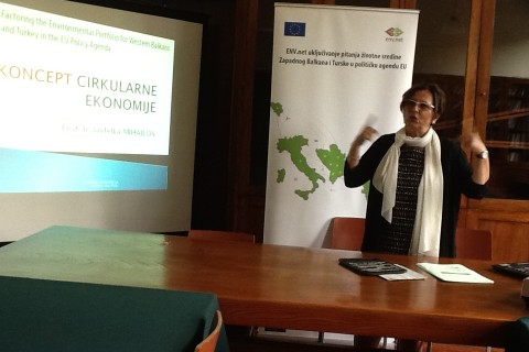 "Guest lectures made at two Universities in Serbia:  ""Circular economy is concept and process, and still not full circle"""