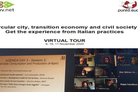 Virtual tour on the experience from Italian practices in circular economy