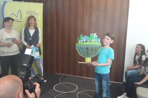 Dodela priznanja najkreativnijim učesnicima Eko-paket kreativnog konkursa