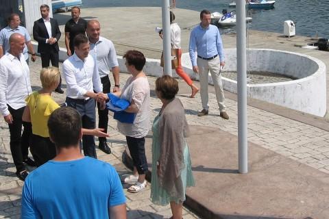 Ada Ciganlija-Savsko jezero: na jarbol podignuta PLAVA ZASTAVA za kupališnu sezonu 2015. godine