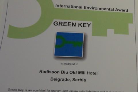 Radisson Blu – Prvi hotel u Srbiji sa ZELENIM KLJUČEM