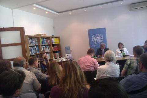 UN/UNDP  konsultacije sa organizacijama civilnog društva vezane za Ciljeve održivog razvoja (Sustainable Development Goals)