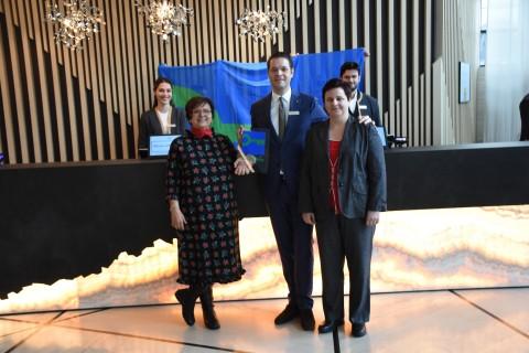 """Hotel Hilton Beograd je dobitnik """" Green Key"""" (Zeleni ključ) međunarodnog eko-sertifikata i pridružuje se velikoj medjunarodnoj globalnoj mreži"""