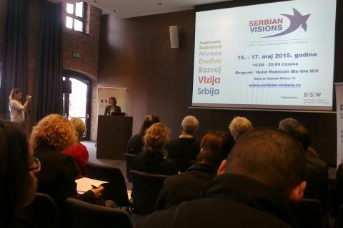 SERBIAN VISIONS – najava prvog multikongresa u Srbiji sa učešćem civilnog sektora i privrede