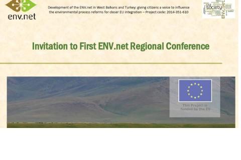 """Regionalna konferencija """"Izazovi u zaštiti životne sredine, proširenje EU i učešće javnosti – uloga medija u zagovaranju u oblasti zaštite životne sredine!"""""""