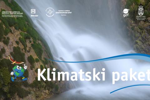 """Uskoro…..""""KLIMATSKI PAKET"""" za decu i mlade u Srbiji"""