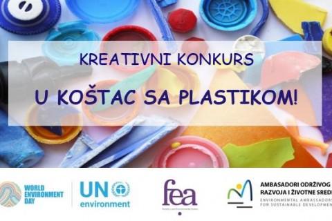 Kreativan konkurs: U koštac sa plastikom