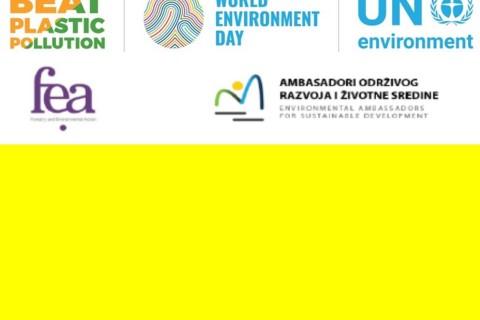 """Izabrani najbolji radovi na kreativnom konkursu U koštac sa plastikom! – Nagrade će biti uručene 5. juna na 14. Regionalnoj konferenciji """"Životna sredina ka Evropi"""""""