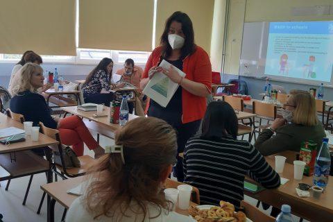 Trening za nastavnike o bezbednosti vode i sanitaciji